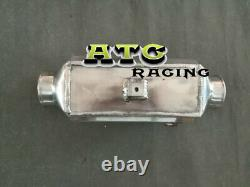Universal Aluminum Turbo Front-Mount Water to Air Intercooler Extra Cooling