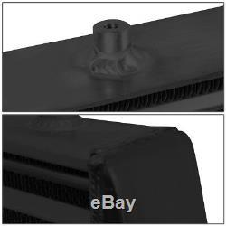 Universal Black Aluminum Fmic Turbo Front Mount Intercooler 31x13x3tube & Fin