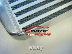 Universal Front Mount 600x300x100mm Alloy Turbo Intercooler 3 In/Outlet PIPE