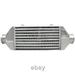 Universal Front Mount Bar & Plate 2.5 Inlet&Outlet Intercooler 19.5x6x2.5