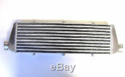 Universal Front Mount Intercooler Kit FMIC 63mm 2.5 BLACK HOSES 550x180x65 Core
