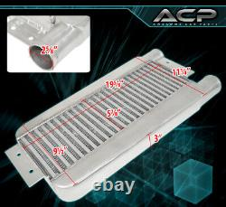 Universal Performance Intercooler Front Mount Turbocharge Supercharge Bar Plate