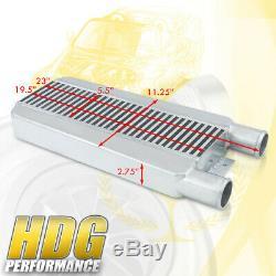 Universal Performance Turbo Front Mount Intercooler Light Weight Bar & Plate JDM