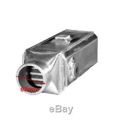 Universal Premium Aluminium Front-Mount Water to Air Square Intercooler Kit NEW