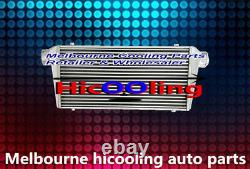 Universal Turbo Aluminum Intercooler 600x300x76mm Front Mount 3 IN/OUTLET 76MM