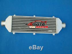 Universal Turbo Front Mount Aluminum Intercooler 430x150x50mm Tube&Fin 67MM pipe