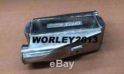 Universal aluminum intercooler water to air front mount 12x12X4.5