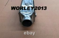 Universal aluminum intercooler water to air front mount 13.75x4.75x4.25