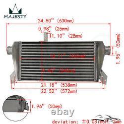 Upgrade Front Mount Intercooler Kit for Audi A4 1.8T Turbo B6 Quattro 02-06 BK