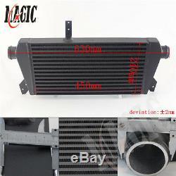 Upgrade Front Mount Turbo Intercooler For VW Passat Audi A4 B5 B6 1.8T 96-01 BK