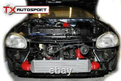 Vauxhall Corsa B C20LET 2.0 Turbo Front Mount Intercooler Kit Black Silicone